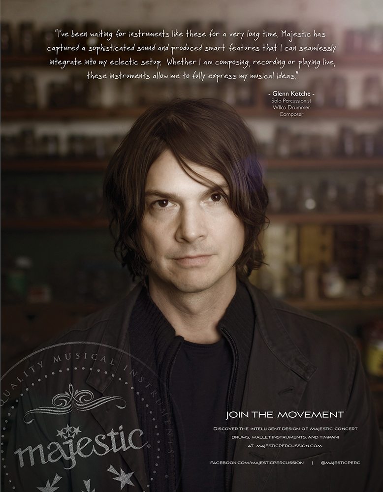 Majestic Percussion Ad feat. Glenn Kotche