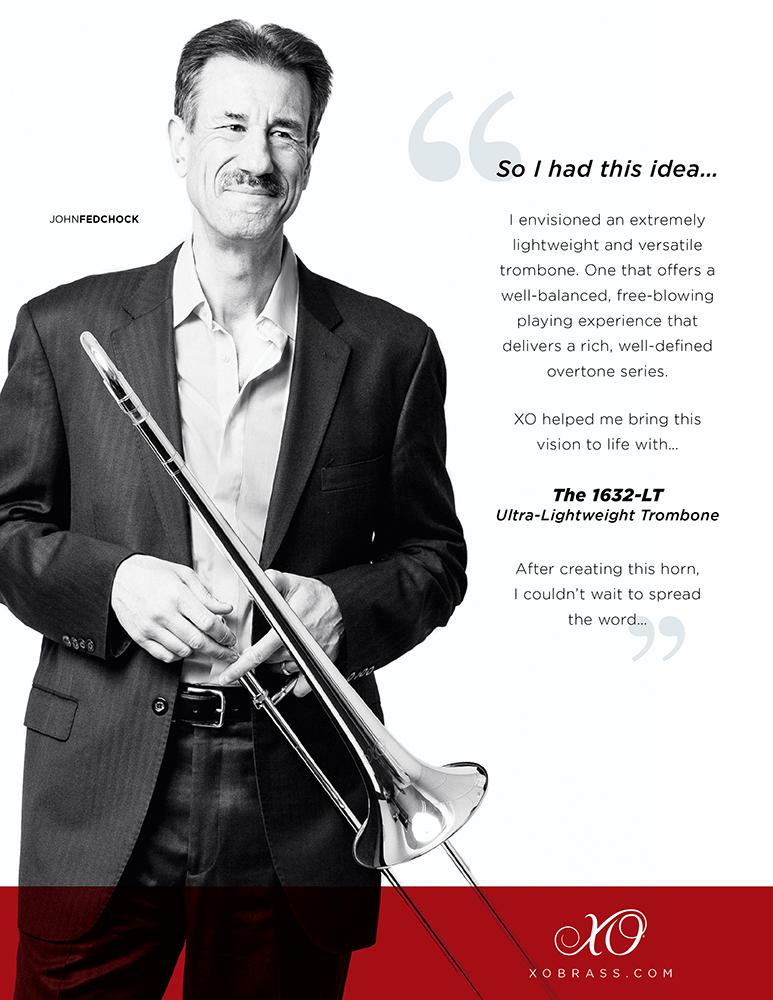 XO Professional Brass Ad feat. John Fedchock