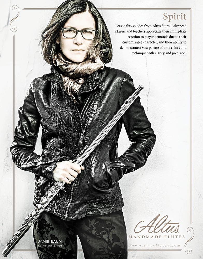 Altus Flutes Ad feat. Jamie Baum