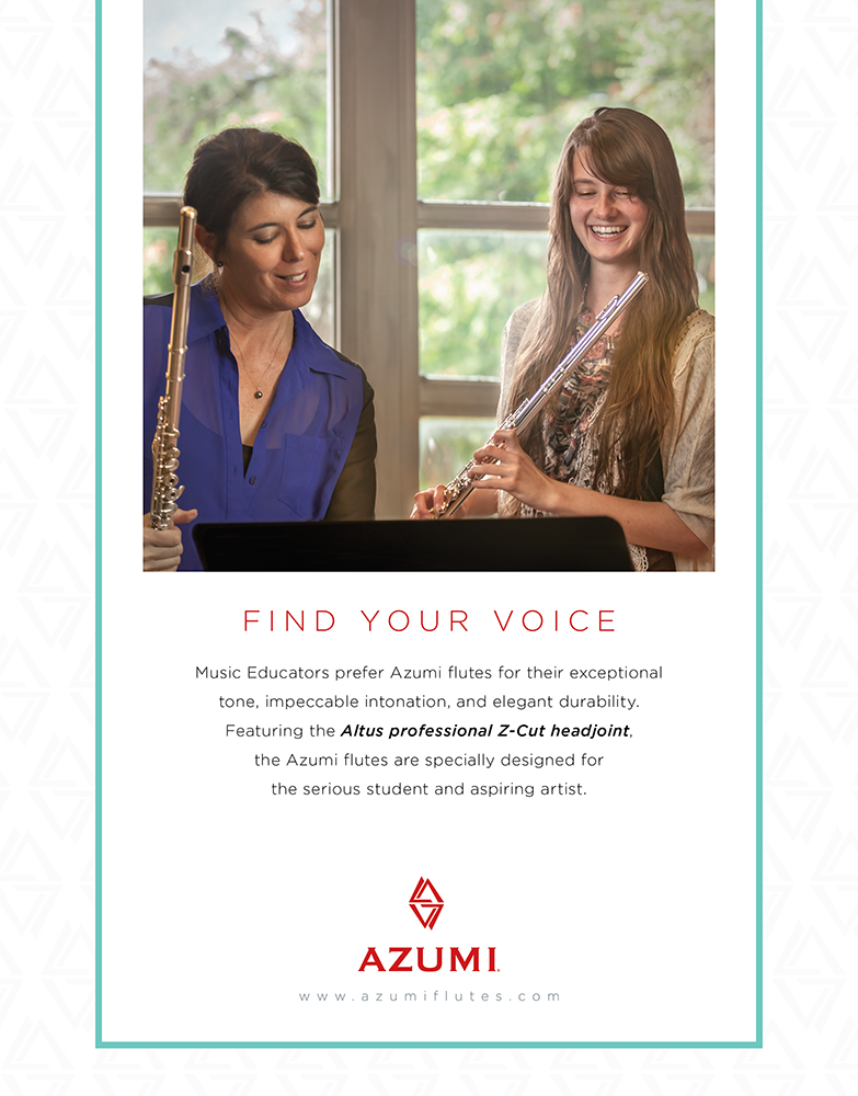 "Azumi Flutes ""Find Your Voice"" Ad"