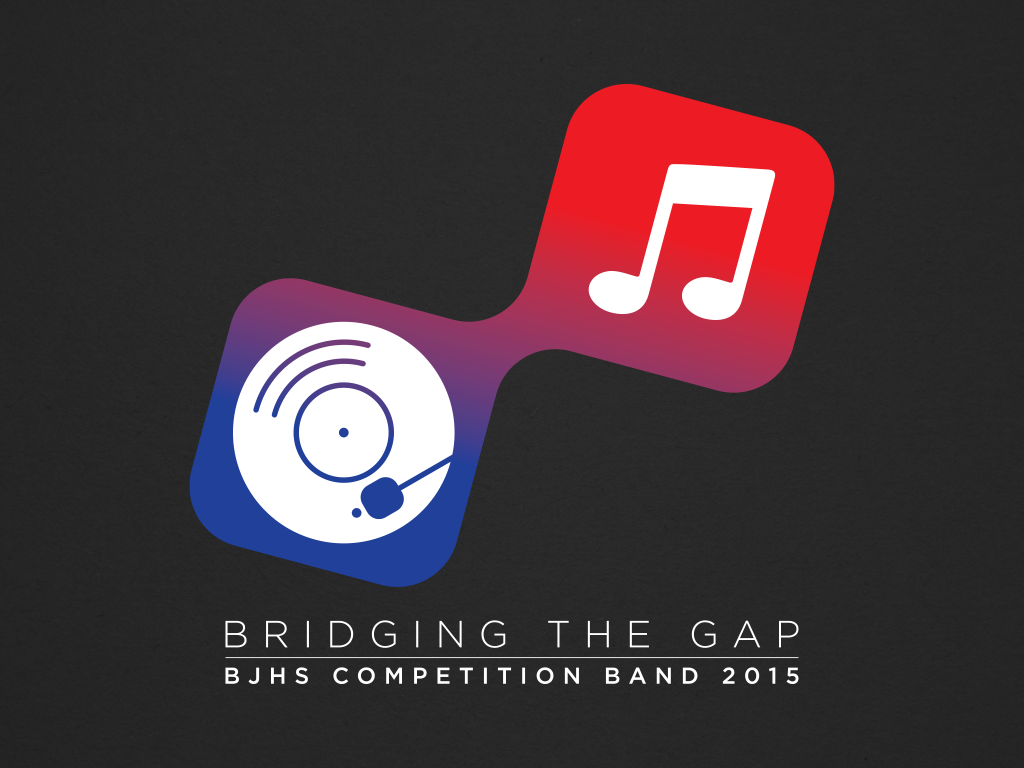 Bob Jones High School Competition Band 2015 Show Logo