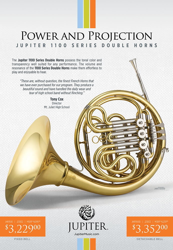 Jupiter French Horns Catalog Ad