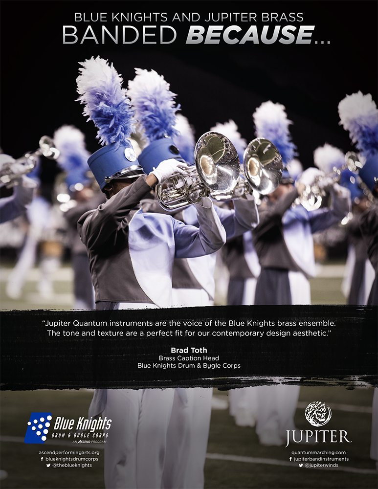 Jupiter Marching Brass Ad feat. The Blue Knights