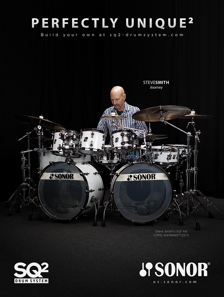 SONOR Drums Ad feat. Steve Smith